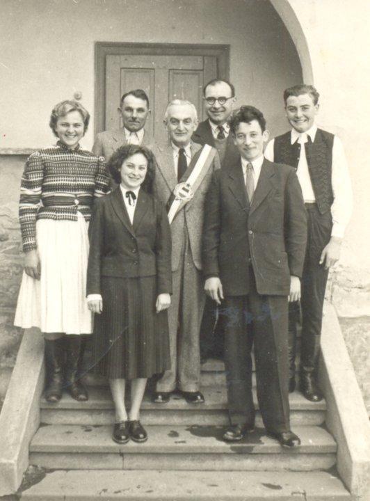 Tiba András és Galbács Zsófia esküvője, 1958. március 15.
