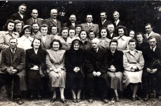 Az eleki egyházi kórus az 1950-es években.