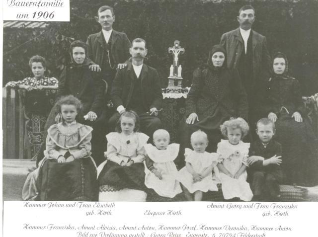 A Hammer család fotója