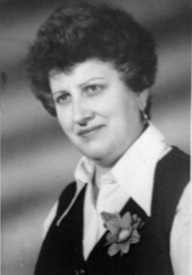Szikes Péterné Lehoczki Mária 1940-2011