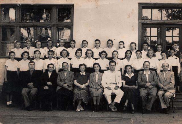 1953-as ballagási csoportkép