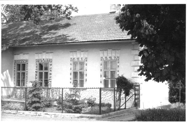 Elek állomásépülete, állomásfőnöki rész, '80-as évek (Felek Ferenc)
