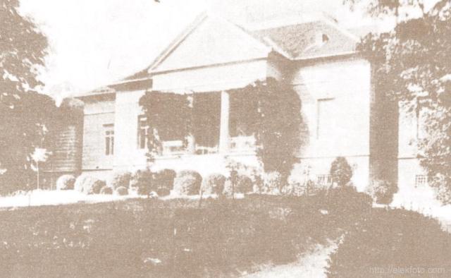 A lökösházi Bánhidy-kastély egykoron.