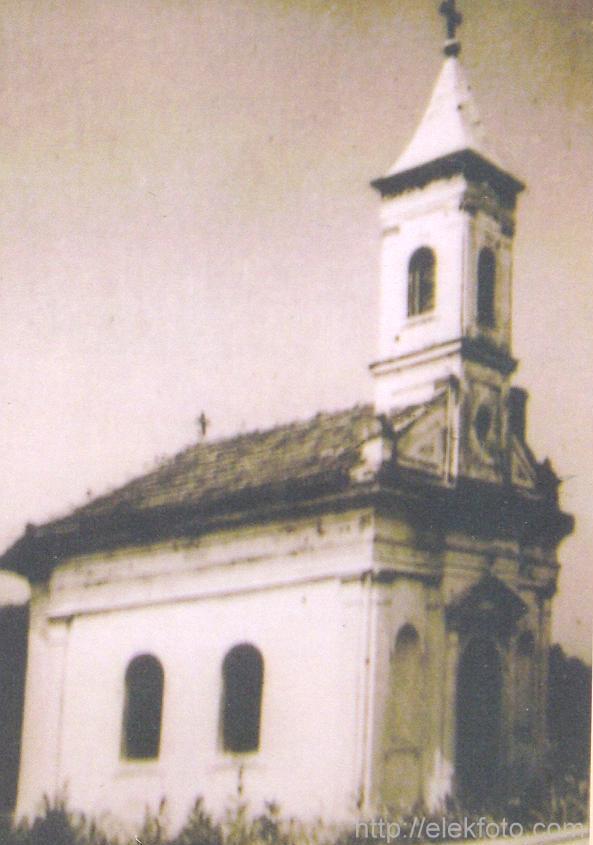 Az egykori Bánhidy-kápolna Lökösházán