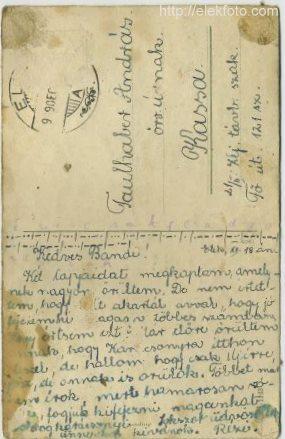 Levelezőlap a Faulhaber-emlékekből, 2.