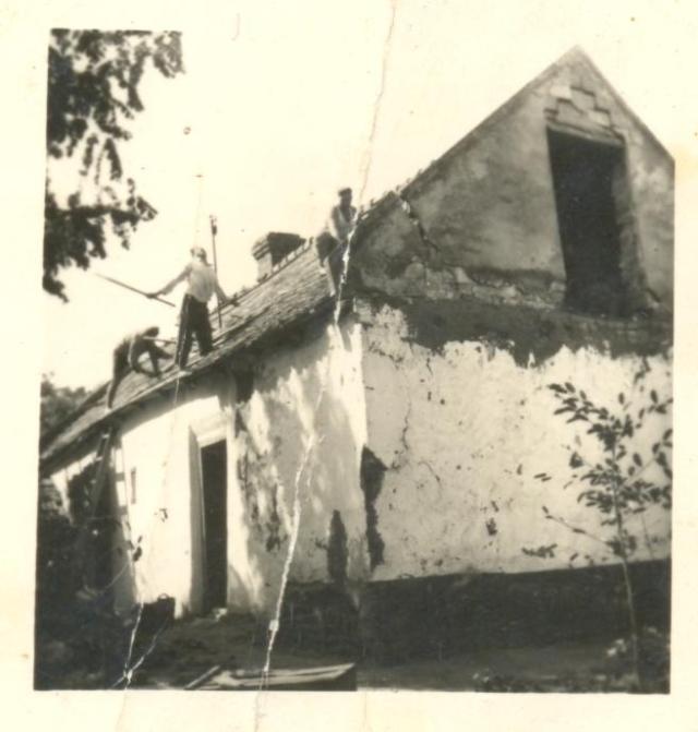 Hack-ház az Erkel-utcában, 1961