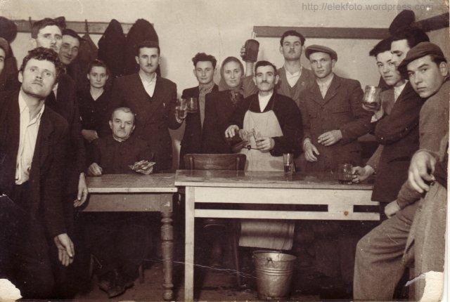 Farsangi mulatság 1952 februárjában