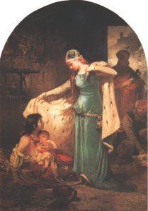 Liezen-Mayer Sándor - Magyarországi Szent Erzsébet (1882), Magyar Nemzeti Galéria