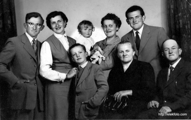 Klemm család 1956-ban