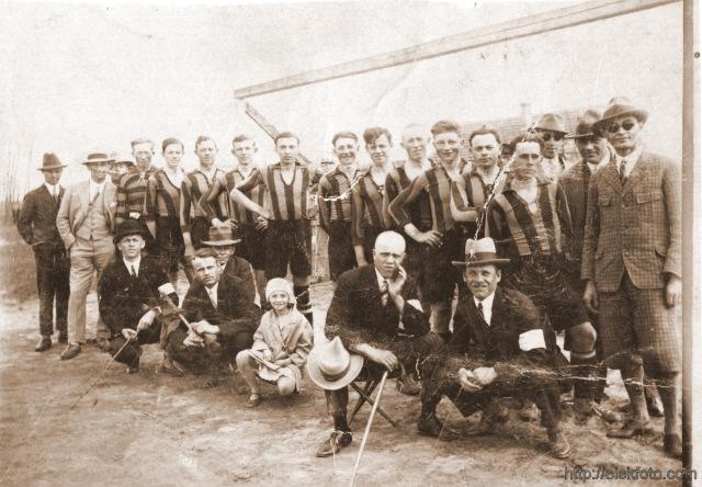Eleki focicsapat az 1930-as években