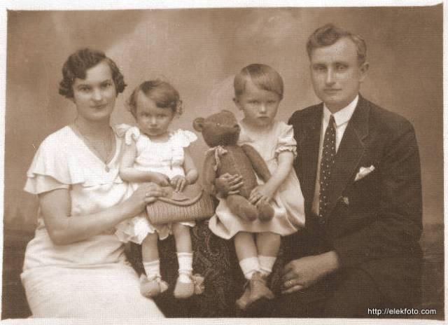 Mag József és családja 1935-ben