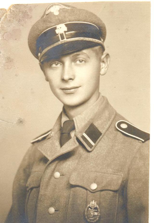 Braun Mihály mint önkéntes