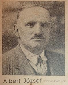 Albert József huszár