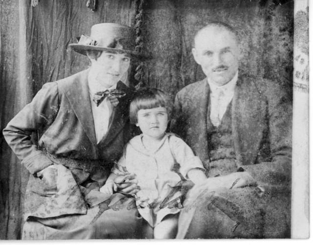 A Takács család 1922-ben