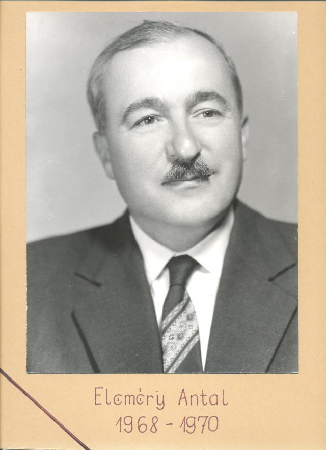 Eleméry Antal (1921-87)