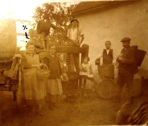 Szüreti kép 1933-ból Brandt Antaltól