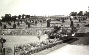 """Potsdam, Sanssousi Nagy Frigyes nyári rezidenciájának a parkjában az  """"Orangerie"""""""