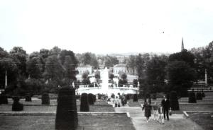 Potsdam, Sanssouci - a kastély parkja