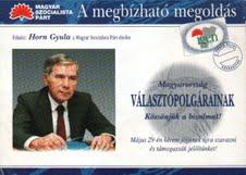 1994-ben sokan hittek a megbízható megoldásban,  amit az MSzP jelenített meg akkor.