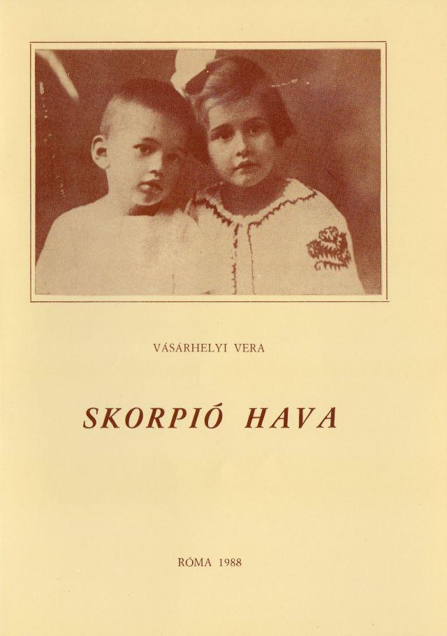 Vásárhelyi Vera kmagyarul írt könyve 1988-ban Rómánam jelent meg