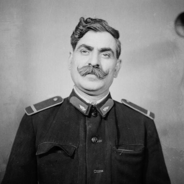 Farkas József vasutas,  aki nagyon  hasonlított Sztálinra