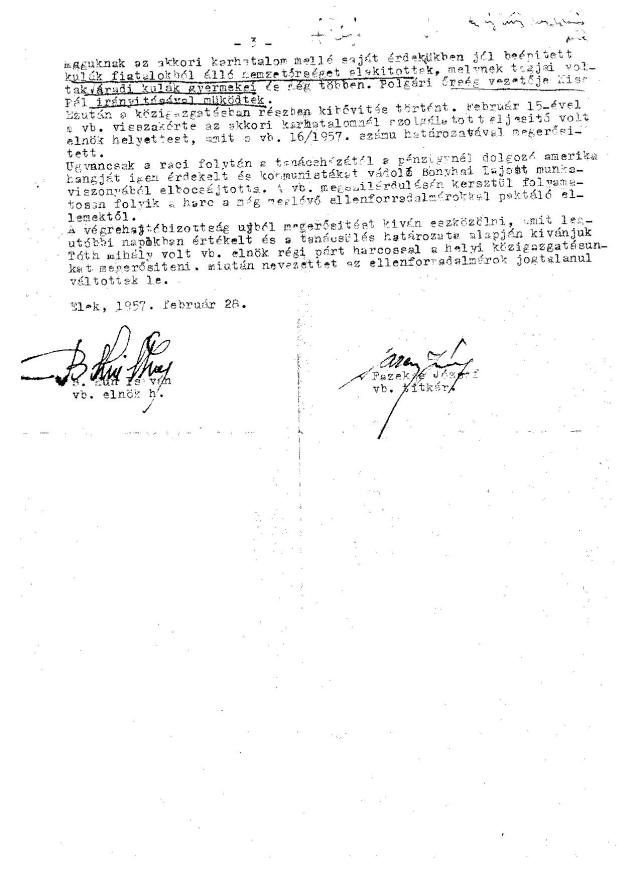 A jegyzőkönyv harmadik oldala