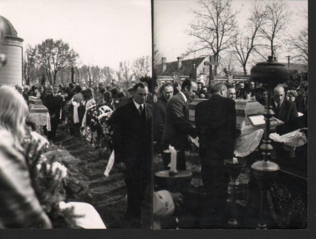 Banner József temetése, Elek, 1973