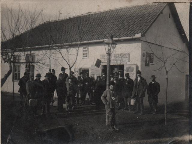 Treszi Ferenc vegyeskereskedése