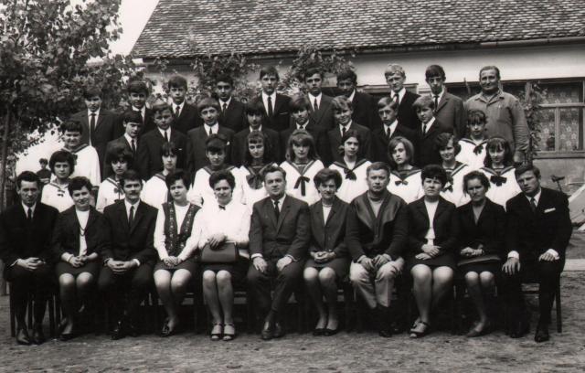 osztálykép 1970