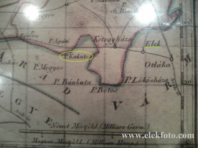Arad vármegye térképe a Munkácsy Mihály Múzeumban.