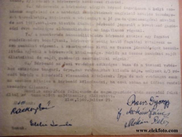 """Bérbeadó Reisz György, a tanu pedig egy """"igazi eleki"""" Eleki László."""