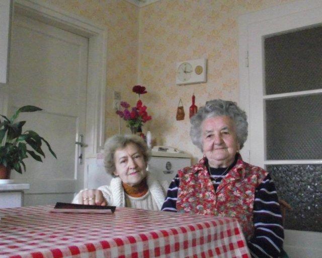 Finta Elekné Jámbor Ilona és Singer Ilona