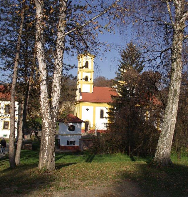 Grábóc, szerb kolostor és templom