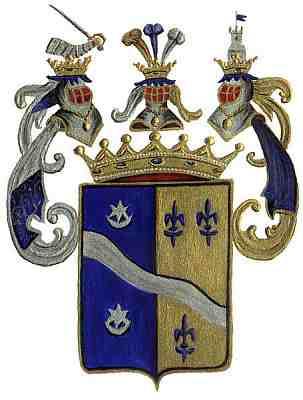 A Tomassich család címere 1779-ben. Bővebben itt olvashatunk a bárói család címereiről és származásáról.